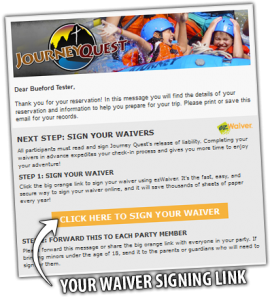 waivers health release forms journey quest