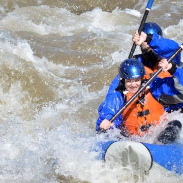Full-Day Inflatable Kayak