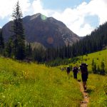Hiking Along the Colorado Trail