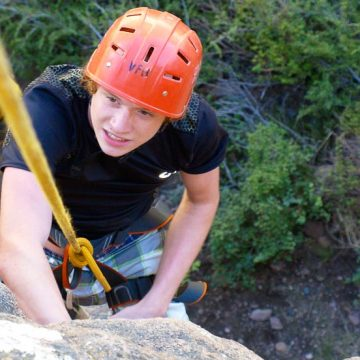 Full-Day Rock Climbing