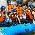 Family Rafting Together