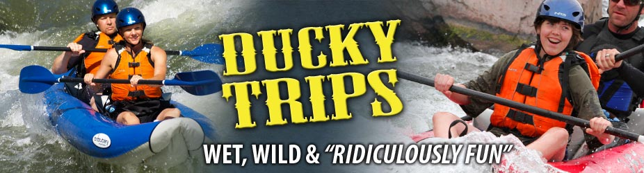 Ducky Trips » Wet, Wild & Ridiculously Fun Inflatable Kayak Adventures