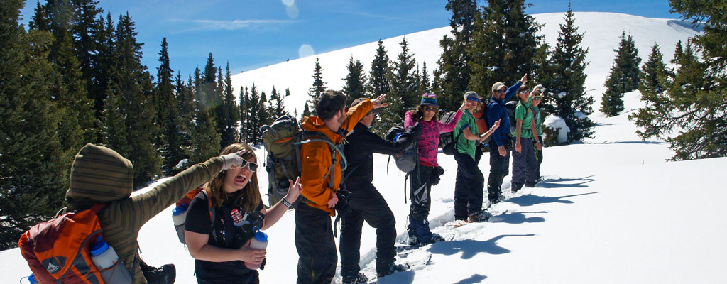 Winter Peak Climb » Snowshoeing in Colorado's San Juan Mountains