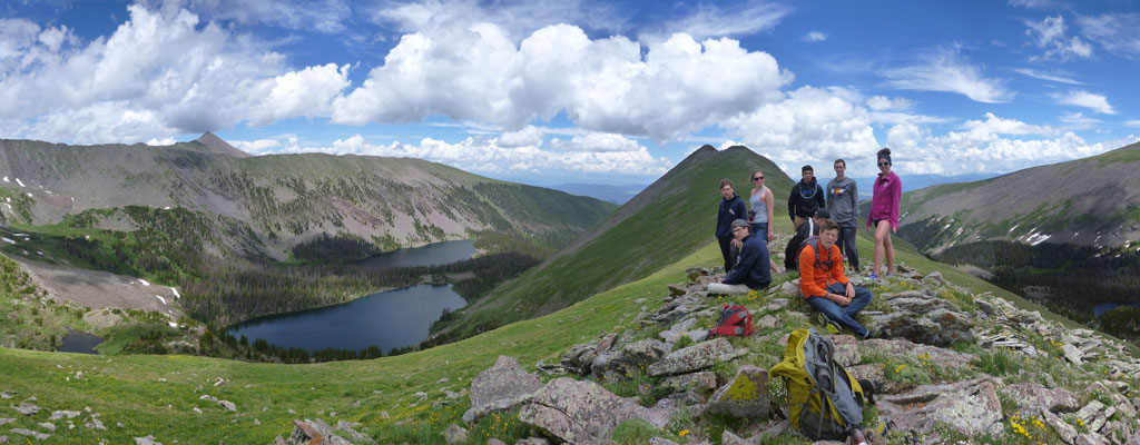 On the Summit » Peak Climb in the Sangre de Cristo Mountains