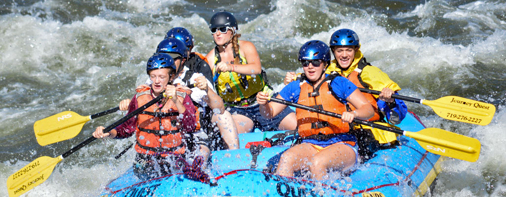 Five Points Rapid » Whitewater Rafting on Colorado's Arkansas River