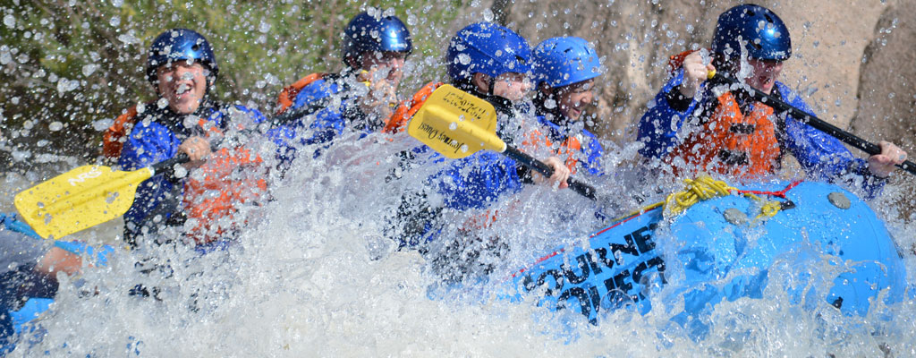 Big Splash in Upper Cottonwood » Whitewater Rafting on Colorado's Arkansas River