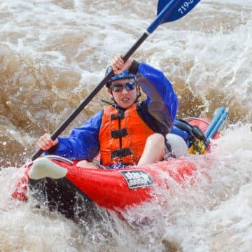 Half-Day Inflatable Kayak