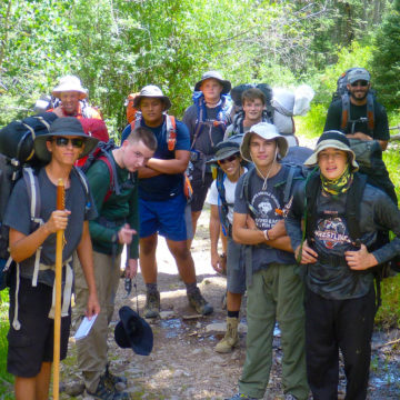 Backpacking Group Multi Day Adventure
